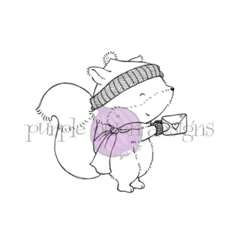 Purple Onion Designs WOODSTOCK Cling Stamp pod1198 Preview Image