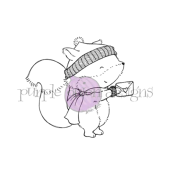Purple Onion Designs WOODSTOCK Cling Stamp pod1198