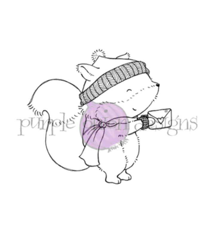 Purple Onion Designs WOODSTOCK Cling Stamp pod1198 zoom image