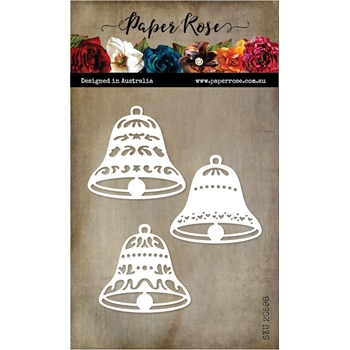 Paper Rose BELL ORNAMENTS Dies 20598