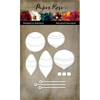 Paper Rose RETRO ORNAMENTS Dies 20550
