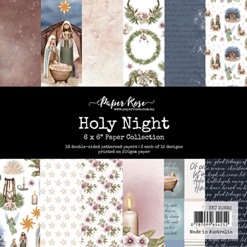 Paper Rose HOLY NIGHT 6x6 Paper Pack 20682