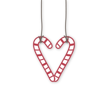 Simon Says Stamp CANDY CANE HEART Wafer Dies sssd112280