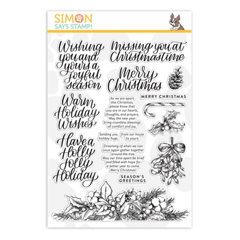 Simon Says Clear Stamps JOYFUL SEASON sss202093c