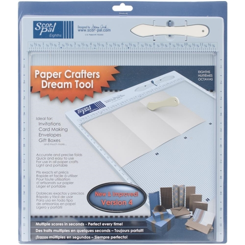 Scor-Pal 12x12 INCH MEASURING AND SCORING BOARD Tool Eighths 2636 Preview Image