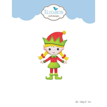 Elizabeth Craft Designs HOLIDAY ELF HERS Dies 1826