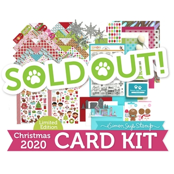 Limited Edition Simon Says Stamp Holiday Card Kit WE BELIEVE 2020 ssswbck20