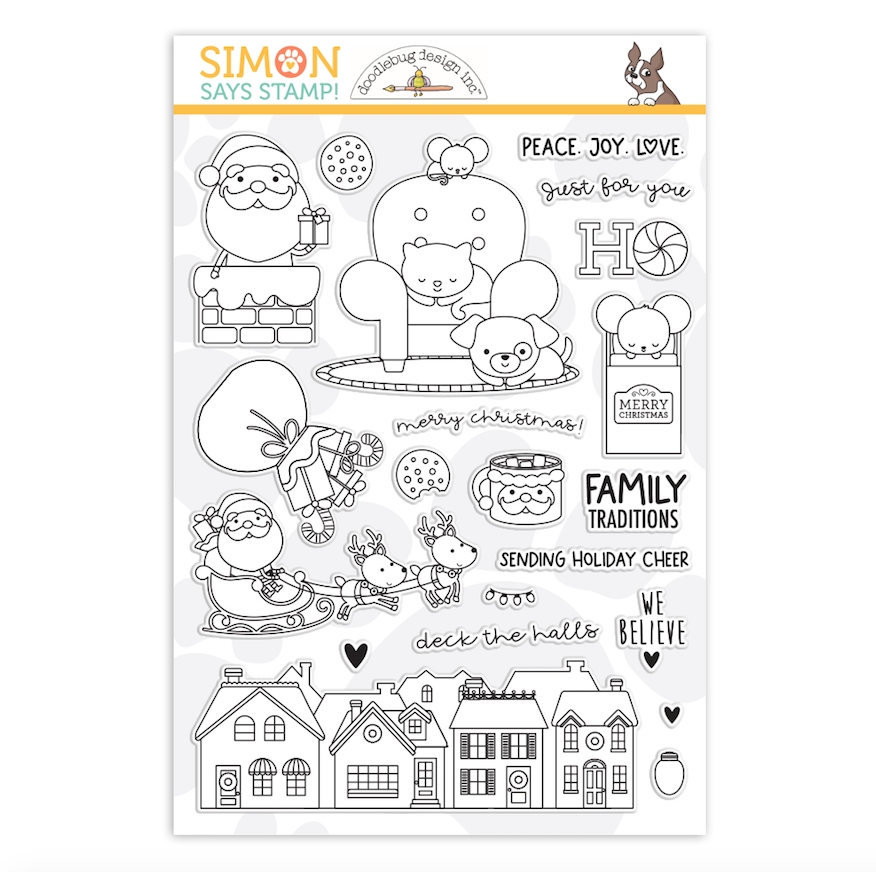 Simon Says Clear Stamps WE BELIEVE sss202260c zoom image