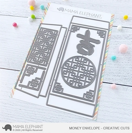Mama Elephant MONEY ENVELOPE Creative Cuts Steel Dies Preview Image