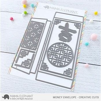 Mama Elephant MONEY ENVELOPE Creative Cuts Steel Dies