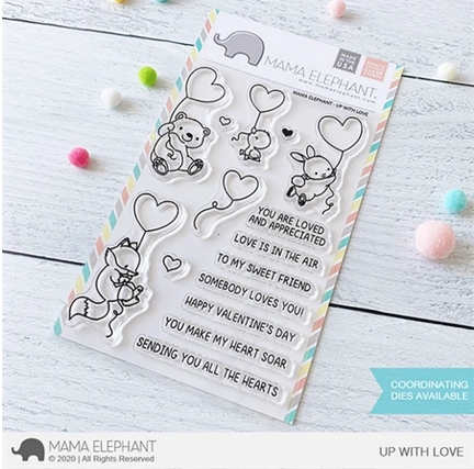 Mama Elephant Clear Stamps UP WITH LOVE Preview Image