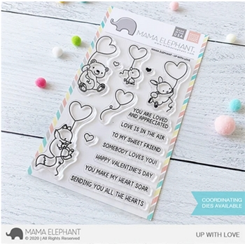 Mama Elephant Clear Stamps UP WITH LOVE