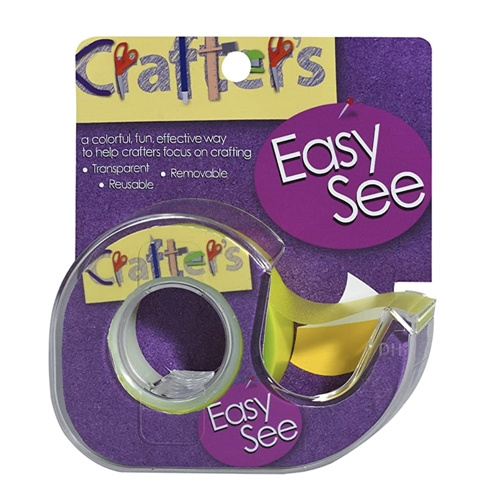 Crafter's Essentials YELLOW Easy See Removable Art Tape 33975 Preview Image