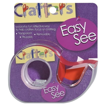 Crafter's Essentials ORANGE Easy See Removable Art Tape 33977
