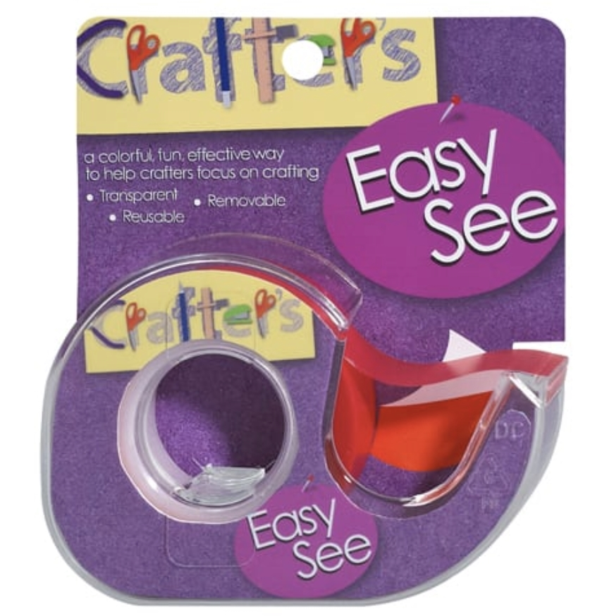 Crafter's Essentials ORANGE Easy See Removable Art Tape 33977 zoom image