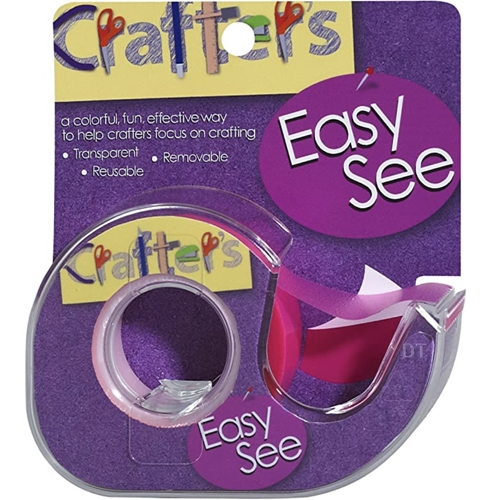 Crafter's Essentials PINK Easy See Removable Art Tape 33978 Preview Image