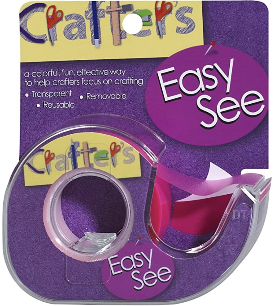Crafter's Essentials PINK Easy See Removable Art Tape 33978 zoom image