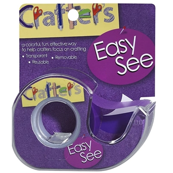 Crafter's Essentials PURPLE Easy See Removable Art Tape 33980