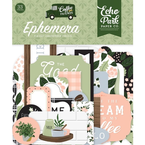 Echo Park COFFEE AND FRIENDS Ephemera cf230024 Preview Image