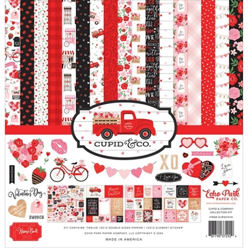 Echo Park CUPID AND CO 12 x 12 Collection Kit cup227016