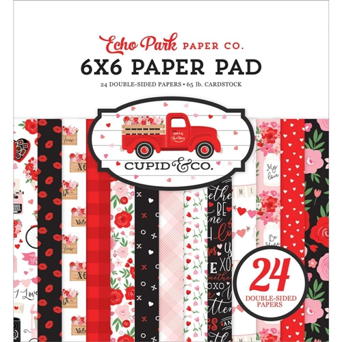 Echo Park CUPID AND CO 6 x 6 Paper Pad cup227023 Preview Image