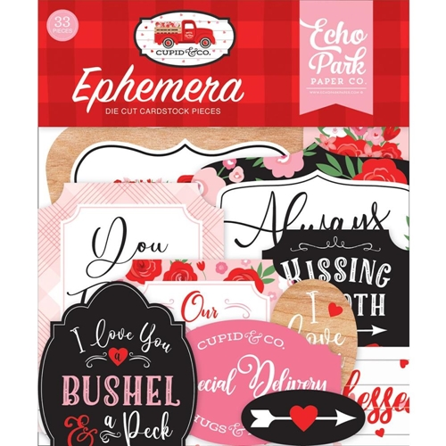 Echo Park CUPID AND CO Ephemera cup227024 Preview Image
