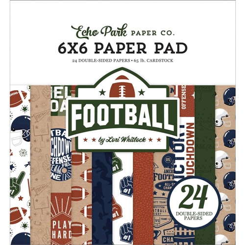 Echo Park FOOTBALL 6 x 6 Paper Pad fo228023 Preview Image