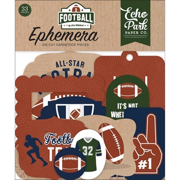 Echo Park FOOTBALL Ephemera fo228024