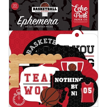 Echo Park BASKETBALL Ephemera bas229024