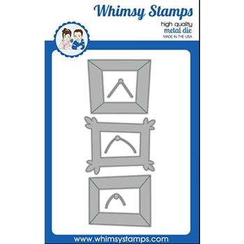 Whimsy Stamps FUNKY FRAMES Dies WSD506