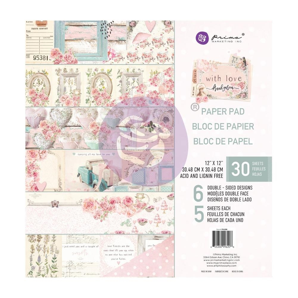 Prima Marketing WITH LOVE 12 x 12 Paper Pad 996208* zoom image