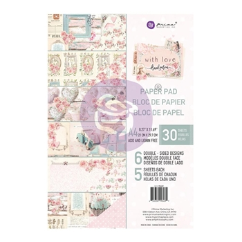Prima Marketing A4 Paper Pad WITH LOVE 996239