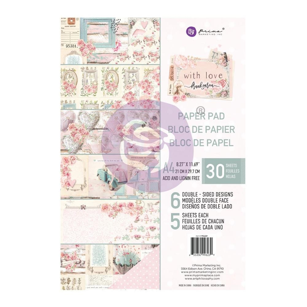 Prima Marketing A4 Paper Pad WITH LOVE 996239 zoom image