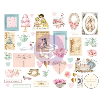 Prima Marketing WITH LOVE Chipboard Stickers 996260