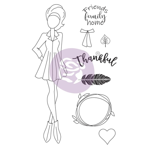 Prima Marketing CLAIR Cling Stamps Julie Nutting 913199 Preview Image