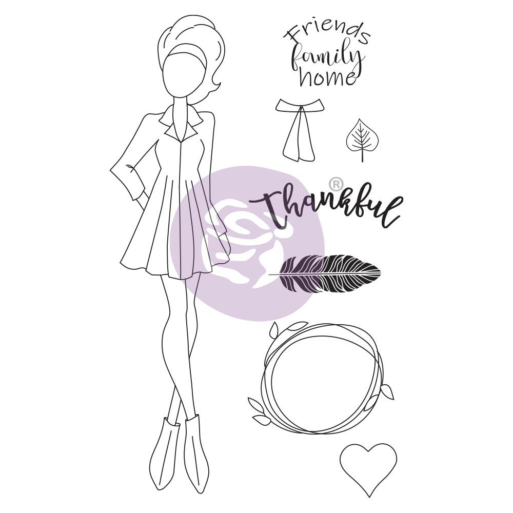 Prima Marketing CLAIR Cling Stamps Julie Nutting 913199 zoom image