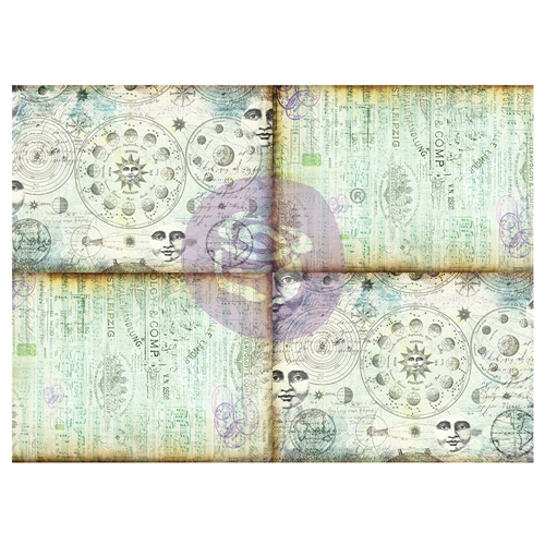 Prima Marketing CELESTIAL MUSIC Art Daily Decorative Paper Journaling Minis 968243 Preview Image