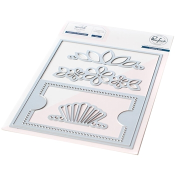 RESERVE PinkFresh Studio FILLABLE GIFT CARD HOLDER Essentials Die Set pf049es