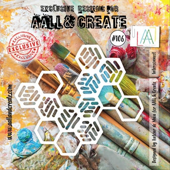 AALL & Create INTERCONNECT 6x6 Stencil aal10106