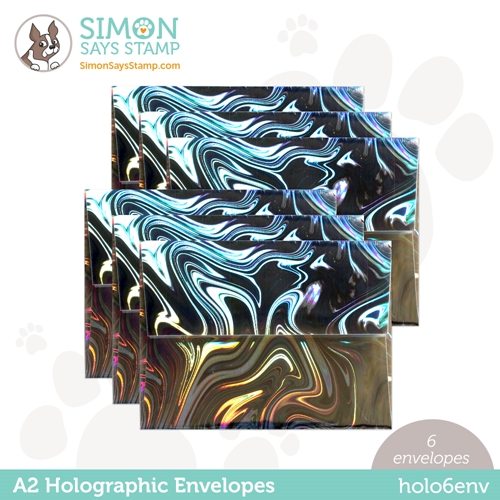 Simon Says Stamp Envelopes HOLOGRAPHIC holo6env Preview Image