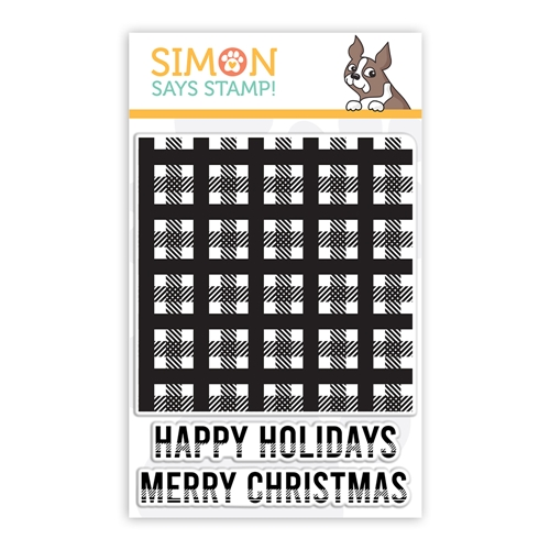 Simon Says Clear Stamps MINI PLAID sss102264 Preview Image
