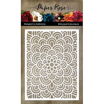 Paper Rose DOODLE FLOWER COVERPLATE 1 Die 20553