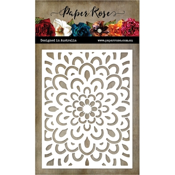Paper Rose DOODLE FLOWER COVERPLATE 2 Die 20556