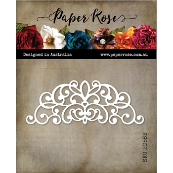 Paper Rose ROUNDED DECORATIVE CORNER 1 Die 20583
