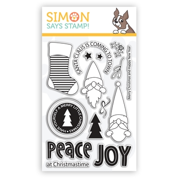 Simon Says Clear Stamps CHRISTMAS GNOMES sss302261