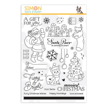 Simon Says Clear Stamps FURRY AND BRIGHT sss202263