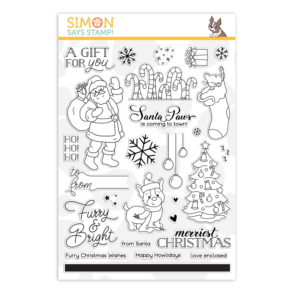 Simon Says Clear Stamps FURRY AND BRIGHT sss202263 zoom image