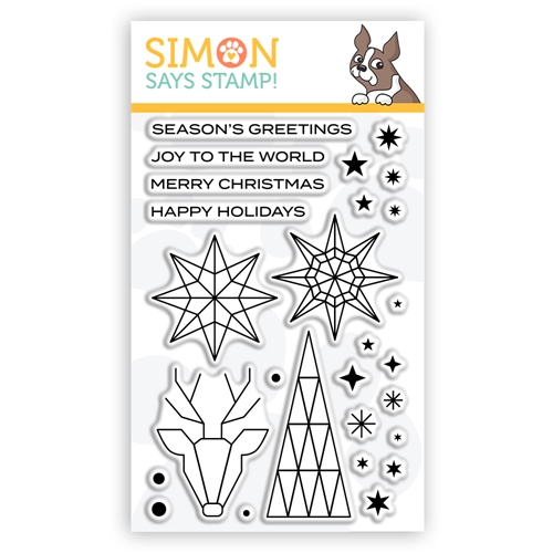 Simon Says Clear Stamps ABSTRACT HOLIDAY sss302253c Preview Image