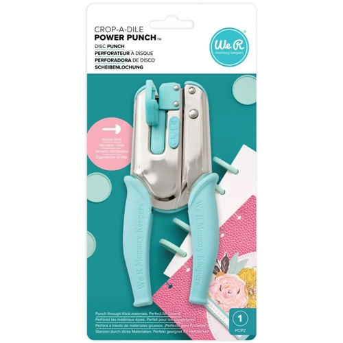 We R Memory Keepers CROP A DILE POWER PUNCH TOOL WR661367 Preview Image