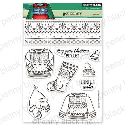 Penny Black Clear Stamps GET COMFY 30 775 Preview Image